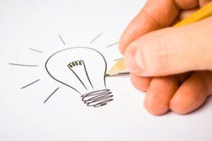 lightbulb doodle