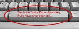 Spacebar 1