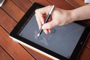 iPad handwritten
