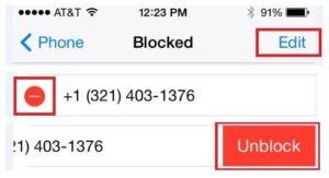 Block caller6