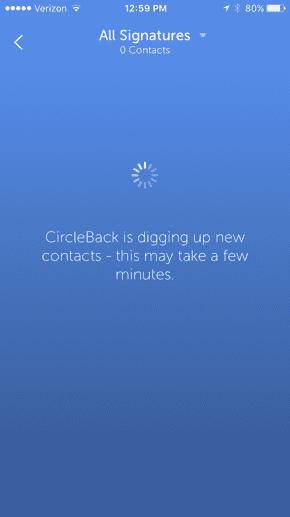 CircleBack App