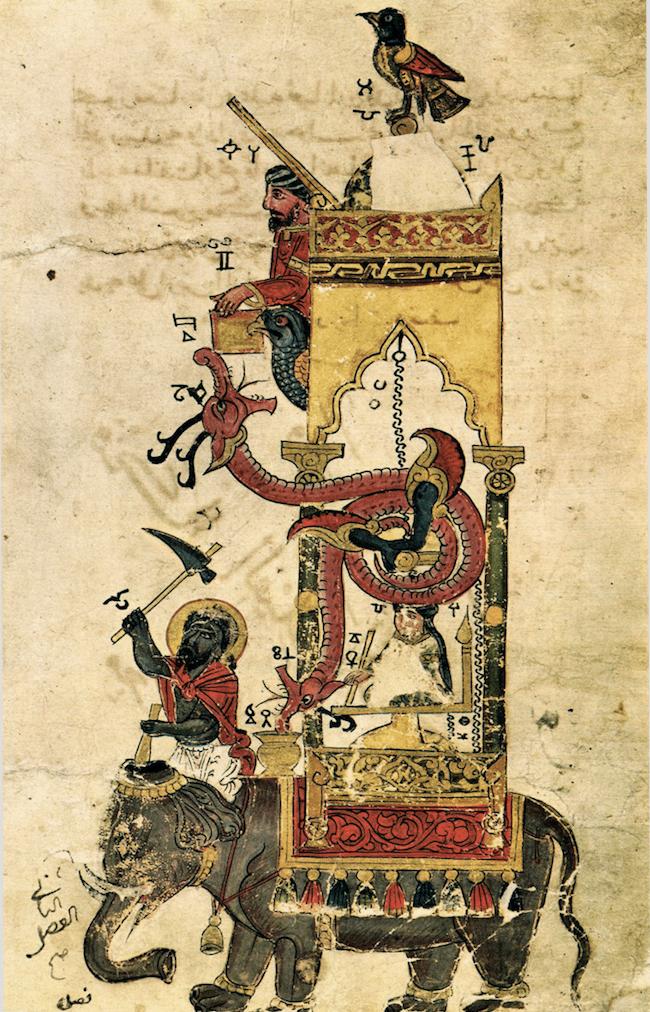 Al-Jazari's elephant clock